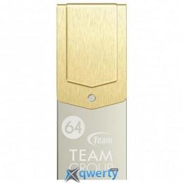 Team USB3.1 64GB OTG Type-C M161 Gold (TM161364GD01)