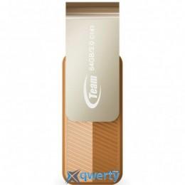 USB3.0 128Gb Team C143 Brown (TC1433128GN01)
