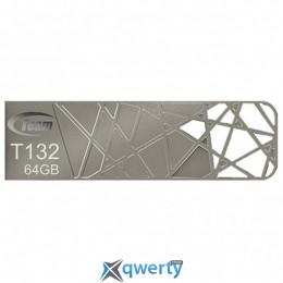 Team USB3.0 64Gb T132 Silver (TT13264GS01)