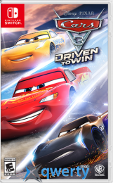 Cars 3: Driven to win Nintendo Switch (русские субтитры)