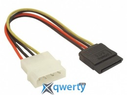 SATA power 4 Pin - 15 Pin SATA-PS