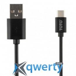 Кабель USB 2.0 AM/Type-C, 1m, черный, OEM 2745_HQ