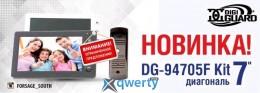 Комплект Digiguard 94705F Kit Black (видеодомофон + вызывная панель)