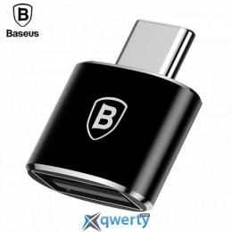 Baseus USB Female To Type-C Male Adapter Converter Black (CATOTG-01) купить в Одессе