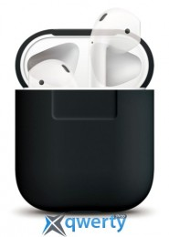 Elago Silicone Case Black for Airpods (EAPSC-BK)