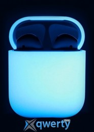 Elago Silicone Case Nightglow Blue for Airpods (EAPSC-LUBL)