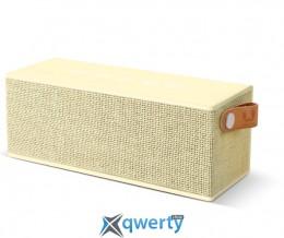 Fresh 'N Rebel Rockbox Brick Fabriq Edition Bluetooth Speaker Buttercup (1RB3000BC)