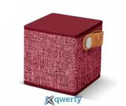Fresh 'N Rebel Rockbox Cube Fabriq Edition Bluetooth Speaker Ruby (1RB1000RU)