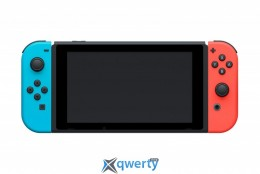Nintendo Switch with Neon Red Joy-Con + Neon Blue Joy-Con Controllers Уценка