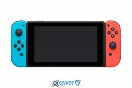 Nintendo Switch with Neon Red Joy-Con + Neon Blue Joy-Con Controllers Уценка