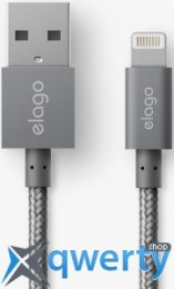 Elago Aluminum Lightning Cable Dark Grey (ECA-ALDGY-IPL)