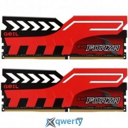 GeIL DDR4-3200 16GB PC4-25600 (2x8) Evo Forza Red (GFR416GB3200C16ADC)