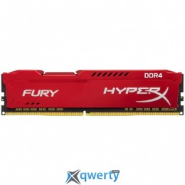 Kingston DDR4-2666 8GB PC4-21300 HyperX Fury Red (HX426C16FR2/8)