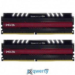 Team Delta DDR4-2400 32GB PC-19200 (2x16) White LED (TDTWD432G2400HC15BDC01)