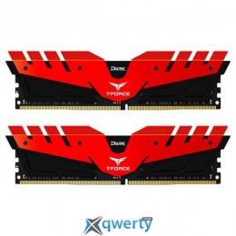 TEAM T-FORCE DDR4-2400 16GB PC-19200 (2x8) DARK RED (TDRED416G2400HC14DC01)