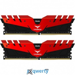 TEAM T-FORCE DDR4-2400 32GB PC-19200 (2x16) DARK RED (TDRED432G2400HC15BDC01)
