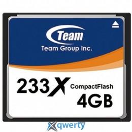 CompactFlash 4GB Team 233x (TCF4G23301)