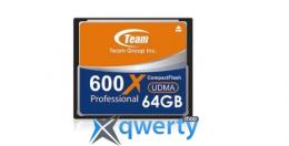 CompactFlash 64Gb Team 600x (TCF64G60001)