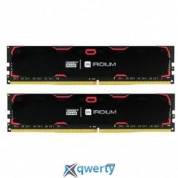 Goodram DDR4-2133 32GB (2x16) PC4-17000 Iridium Black (IR-2133D464L15/32GDC)
