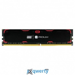 Goodram DDR4-2133 8GB PC4-17000 Iridium Black (IR-2133D464L15S/8G)