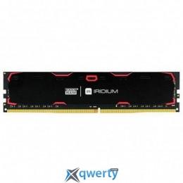 GOODRAM DDR4-2400 16GB PC4-19200 IRIDIUM BLACK (IR-2400D464L17/16G)