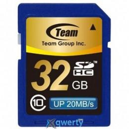 Team SDHC 32GB Class 10 (TSDHC32GCL1001)
