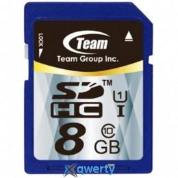 SDHC 8GB UHS-I Class 10 Team (TSDHC8GUHS01)