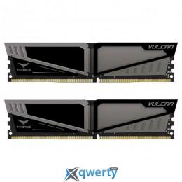 Team T-Force Vulcan DDR4-2666 8GB PC-21300 (2x4) Gray HS (TLGD48G2666HC15BDC01)