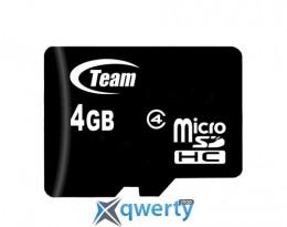 MicroSDHC 4GB Class 4 Team (TUSDH4GCL402)