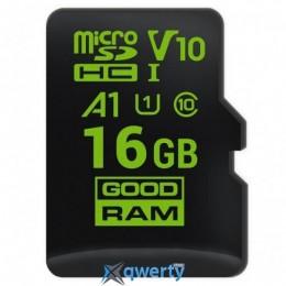 GOODRAM MicroSDHC 16GB UHS-I Class 10 (M1A0-0160R11)