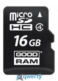 GOODRAM MicroSDHC 16GB Class 4 (M400-0160R11)