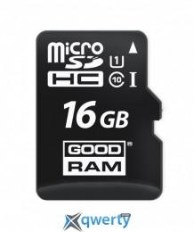 MicroSDHC 16GB UHS-I Class 10 GOODRAM (M1A0-0160R11)