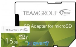 MicroSDHC 16GB UHS-I Team Color Green (TCUSDH16GUHS02)