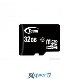 MicroSDHC 32GB Class 10 Team (TUSDH32GCL1002)