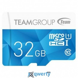 MicroSDHC 32GB UHS-I Team Color Blue (TCUSDH32GUHS02)