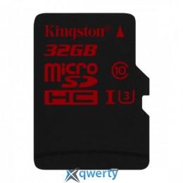 MicroSDHC 32GB UHS-I/U3 Class 10 Kingston (SDCA3/32GBSP)