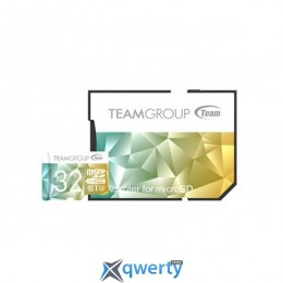 MicroSDHC 32GB UHS-I/U3 Team Color II + SD-adapter Green/Yellow (TCIIUSDH32GU350)