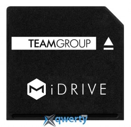MicroSDXC 128GB UHS-I Team + MiDRIVE adapter для MacBook (TUSDX128GUHS39)