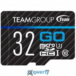 Team MicroSDHC 32GB UHS-I/U3 Go R90/W45MB/s (TGUSDH32GU302)