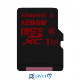 MicroSDXC 128GB UHS-I/U3 Class 10 Kingston + SD-adapter R90/W80MB/s (SDCA3/128GB) купить в Одессе