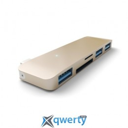 Satechi Type-C USB 3.0 3-in-1 Combo Hub Gold (ST-TCUHG)