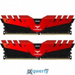 Team T-Force Dark Red DDR4-2666 32GB (2x16) PC-21333 (TDRED432G2666HC15BDC01)