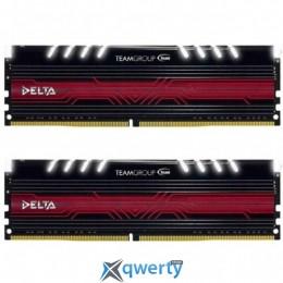 Team T-Force Delta White LED DDR4-3000 8GB (2x4) PC-24000 (TDTWD48G3000HC16ADC01)