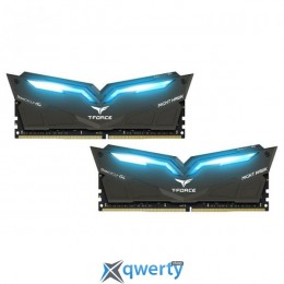 Team T-Force Night Hawk Blue Led DDR4-2666 32GB (2x16) PC-21333 (THBD432G2666HC15BDC01)
