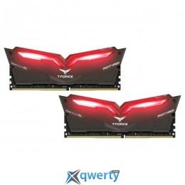 Team T-Force Night Hawk Red LED DDR4-3000 32GB (2x16) PC-24000 (THRD432G3000HC16CDC01)