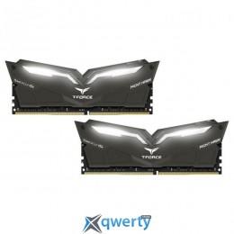 Team T-Force Night Hawk White LED DDR4-3000 32GB (2x16) PC-24000 (THWD432G3000HC16CDC01)