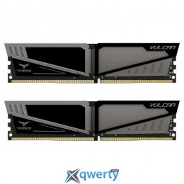 Team T-Force Vulcan Gray DDR4-3000 8GB (2x4) PC-24000 (TLGD48G3000HC16CDC01)