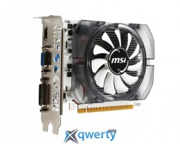 MSI GeForce GT 730 1GB GDDR5 (64bit) (1006/5000) (DVI, HDMI, VGA) (N730K-1GD5/OCV1)