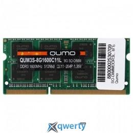 QUMO SODIMM DDR3L 1600MHz 8GB PC-12800 (QUM3S-8G1600C11L)