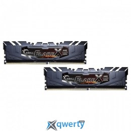 G.Skill DDR4-3200 16GB PC4-25600 (2x8) Flare X Black (F4-3200C14D-16GFX) купить в Одессе